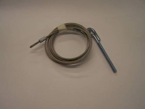 "Starcraft Lifter Cable 117"" Overall Lgth 3/32""Ss -4"" Eyebolt"