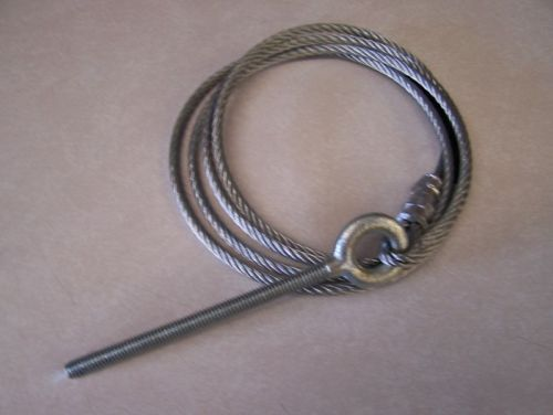 "Starcraft Lifter Cable Main 73"" Overall Length 3/16 Cable - Click Image to Close"