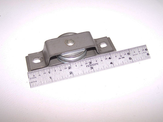 Jayco Pulley, Wall W/ 2 Pulleys & Bracket